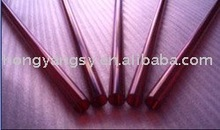 ruby/red silica glass tube for infrared heater etc.