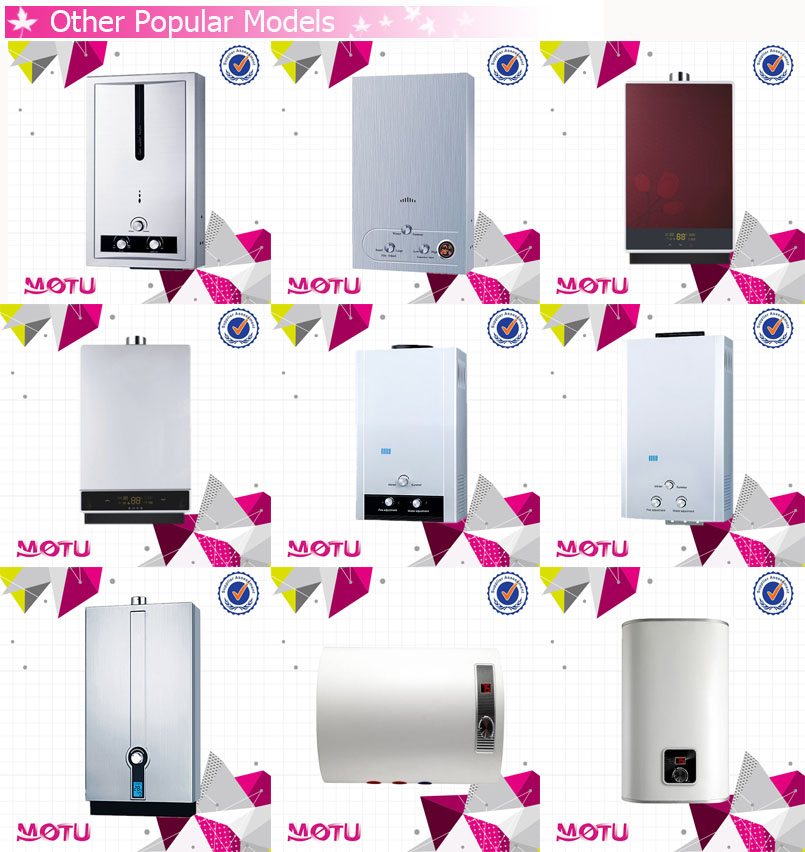6L~20L Different Capacity Instant Tankless Gas water heater (Portable Type)