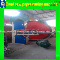 Hot sale!Zhengzhou GM Automatictoilet paper band saw cutter,tissue paper cutting machine price