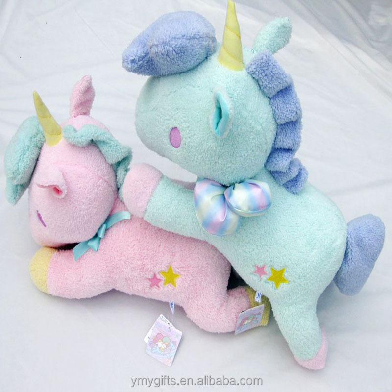 60cm Sanrio twin stars custom plush stuffed toys unicorn