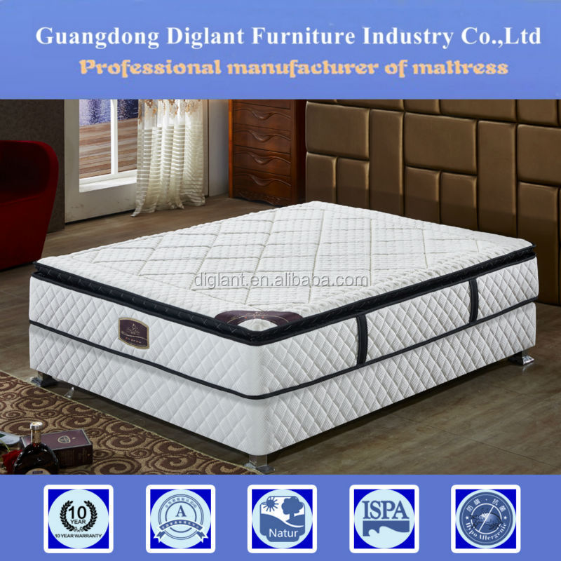 pillow top coil pvc kids bed mattress spring bonnell spring