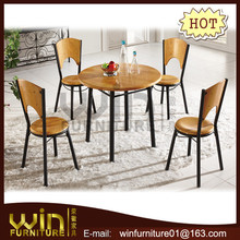 modern melamin dining tables and 4 chairs