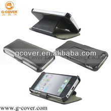 "for iphone 5"" case, hot selling standing pouch for iphone 5"