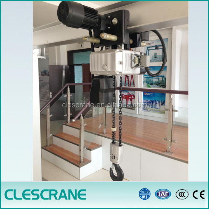 High Quality 0.5-5 Ton Construction Elevator CE TUV Certified Electric Chain Hoist