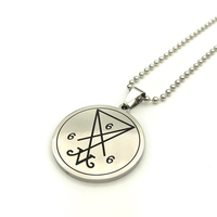 Stainless Steel Quantum Pendant Statement Pendants For Sale