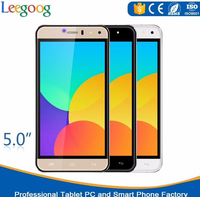 5 inch screen unlocked smartphones 4g mtk6735 android 5.1 wholesale dual sim mobile phone