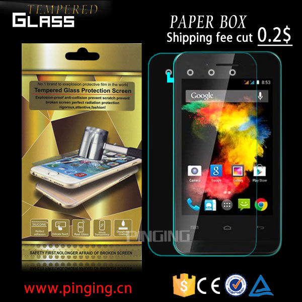 2.5D 9H mobile phone screen protector for Infinix Zero 4 X555 , anti-glare screen protector for Infinix Zero 4 X555