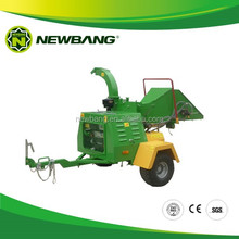 Farming Mechanical Diesel Wood Chipper CE for Tractors