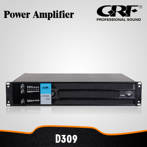 GRF 3CH Professional PA Speaker Audio Power Amplifier for Concerts (D. POWER 309)