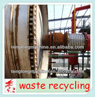 2013 New Design plastic recycling pyrolysis plant