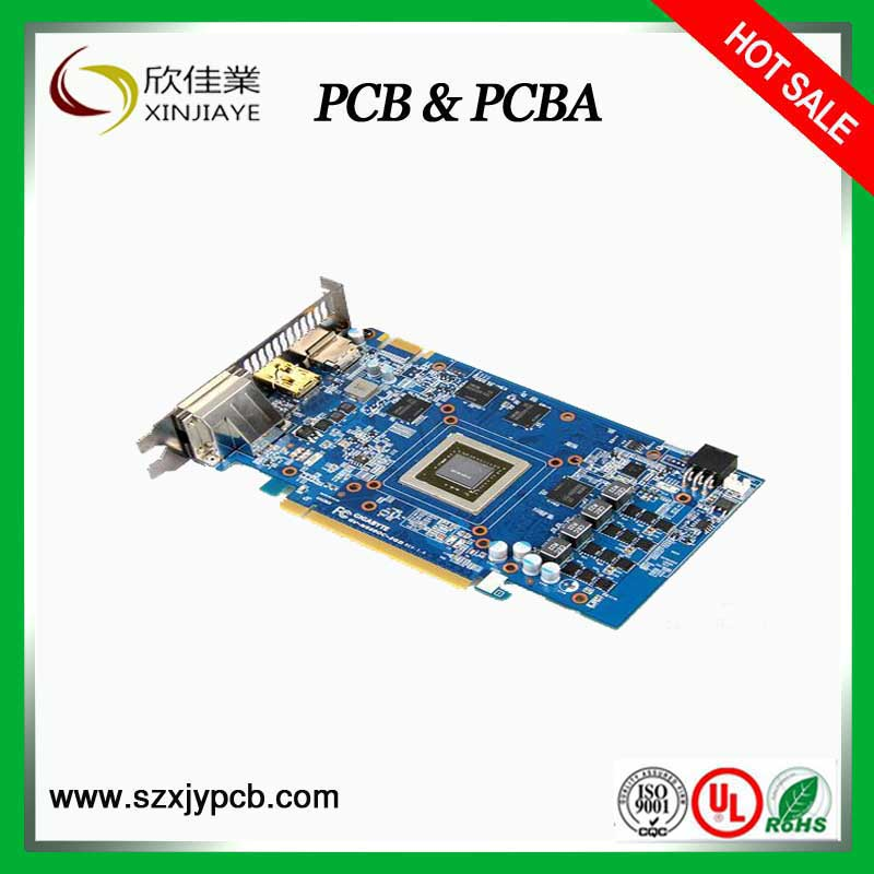 pcb assembly doorbell pcb nanya fr4 material pcb immersion gold pcb, pcb factory in china