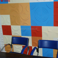 Simple design for bagasse wall panels, operable wall panel and living room background wall