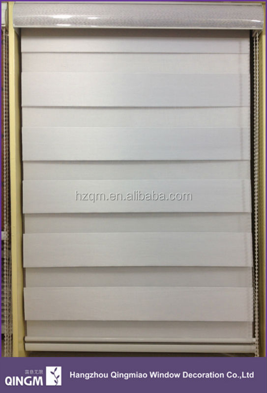 Wholesale Polyester Material Slat Style Zebra Blind Fabric for Window