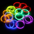 Light glow sticks 8 inch bracelets, glow stick party pack glow bracelet of 100pcs per pack