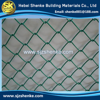 chain link mesh wire mesh fence for sports