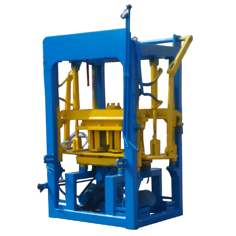 Road construction equipment QTF3-20 color concrete paver block making machine price