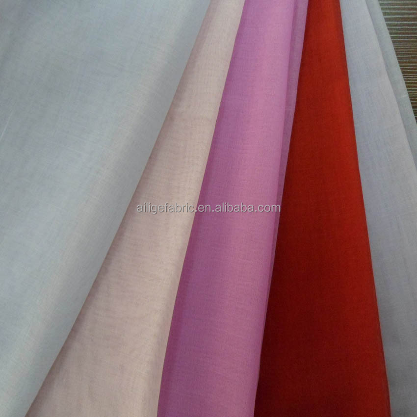 Ailige polyester voile for scarf with high quality and beautiful color
