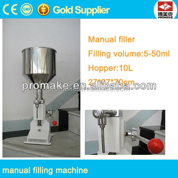 High quality manual wine filler, manual milk filler, manual jam filler