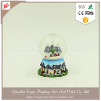 Water Snow Globe For Souvenir nature snow globe