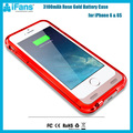 Wholesale 3100mAh Ultra Slim Charging Case,MFi Certified for iPhone 6 6s Battery Case