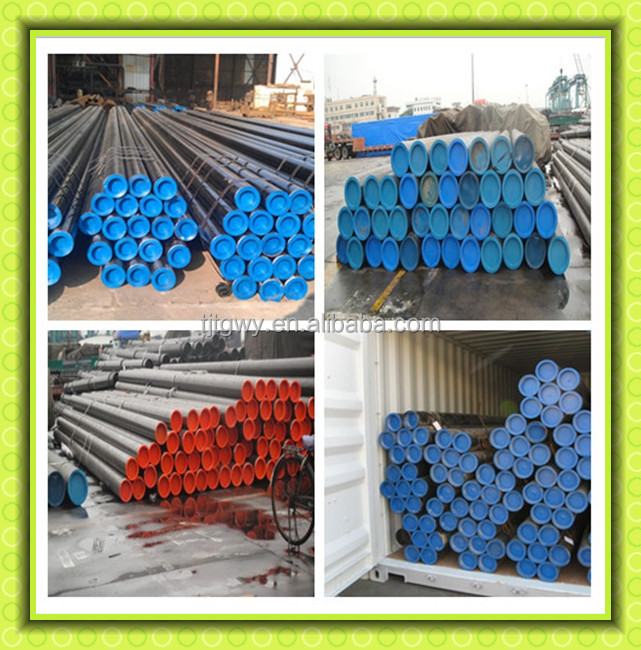 ASTM A106 Gr.B Seamless Carbon Steel pipe/ A106 GR.B seamless steel tube