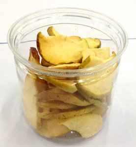 Low fat healthy VF snacks-- VF dried apple crisps for sale