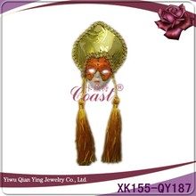 Funny mini magnet party mask masquerade mask sticker