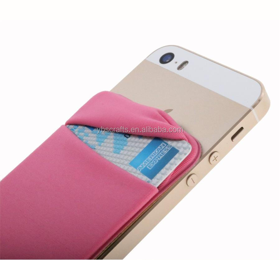 Stick-On Cute Cell Phone Case Mobile Phone Pouch with Cover