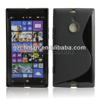 Facturer price S line TPU gel cover case for nokia lumia 1520