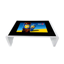 Interactive kiosk pricing 42 inch multi touch table capacitive waterproof screen