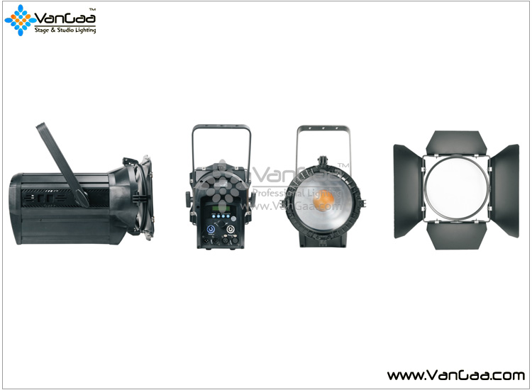 Quality fresnel spot light with zoom gold supplier