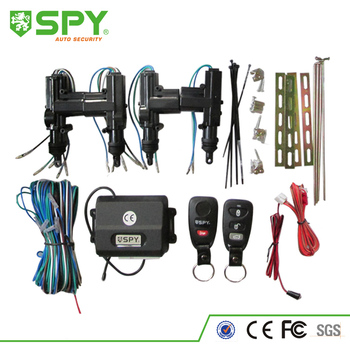 4 door lock actuators car keyless entry remote kit central locking system