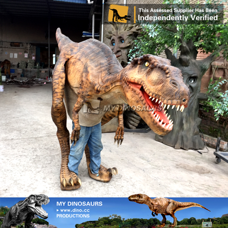 MY Dino-M17 Artificial realistic dinosaur costume for sale