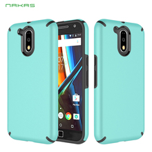 2017 hot Latest design shockproof high relief 3D printing PC+TPU mobile phone case for MOTO G4 plus