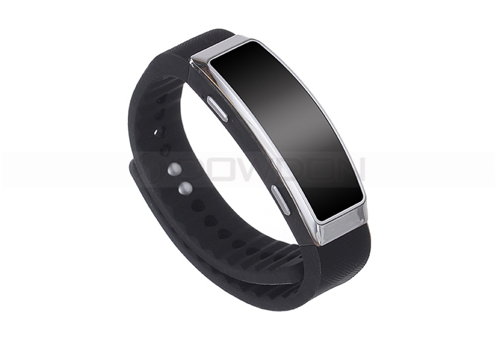 U Disk and MP3 Player Recording Wristband 8GB Sound Recording Ring With 20h Durable Time