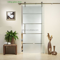 DOUBLE Sliding Barn Door Hardware Kit for 2 Doors with 8 Feet Track Rustic Antique Country decor