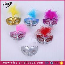 Fashion design black wholesale masquerade masks