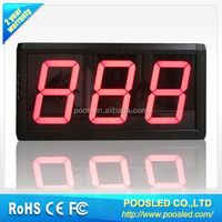 led timer signage \ programmable led light timer \ remote control timer