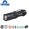 Popular 300lm Mini Led Flashlight Torch Adjustable Focus Zoom Light Lamp