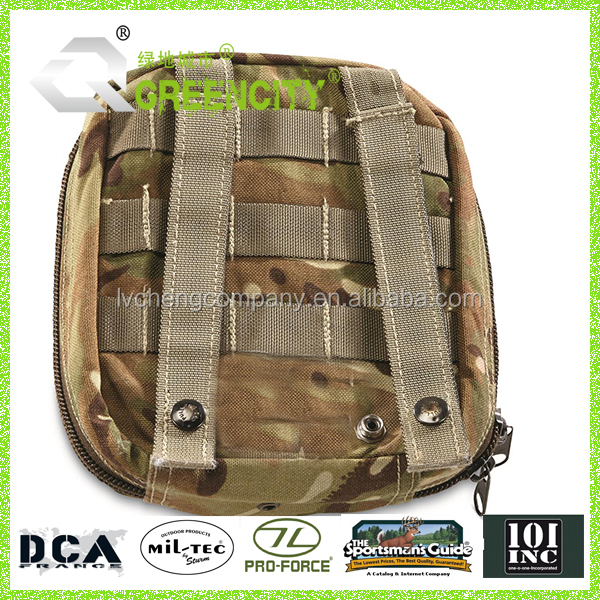 Muli pocketed camo MOLLE gear hauler Military Surplus First Aid Kit
