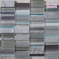 Marble flooring border designs and wall floor marble,porcelain tile glass mosaic tile bathroom MA-HP5010 in China
