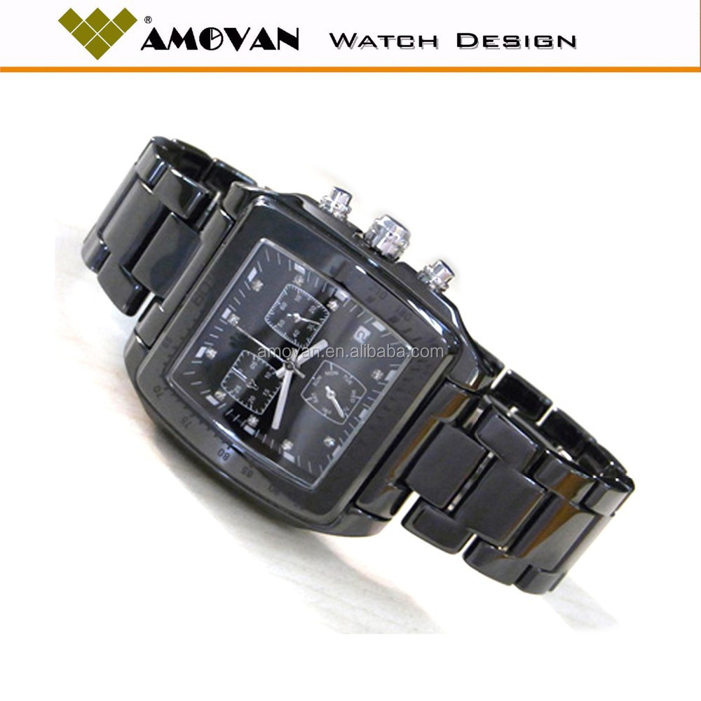 most popular products relojes for men ceramic watch square shaped man watch alibaba in russian