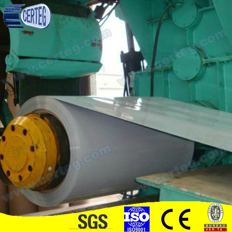 Grey prepainted galvanized coil coatings Coated Surface Treatment and SPCC Grade GI steel coil