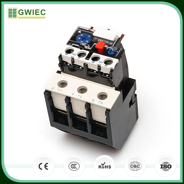 GWIEC Hight Quality Products Lr2-D13 2.0A AC Thermal Relay For Motor Overload Protection
