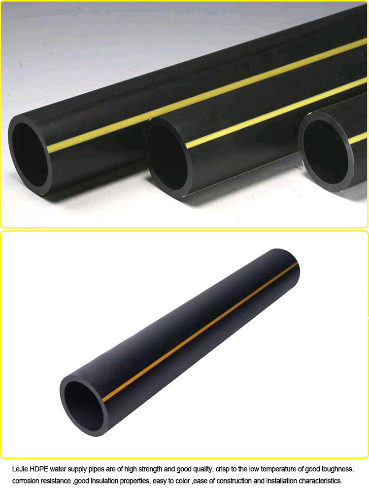 Black Plastic Pipe For Natural Gas