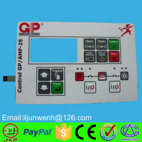 electronic prototype membrane switch