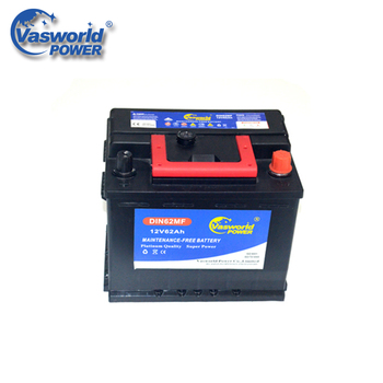 Korean Brands Names 12v 62ah Car Battery Wholesale