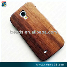 High qality wooden hard cellphone case for samsung galaxy s4