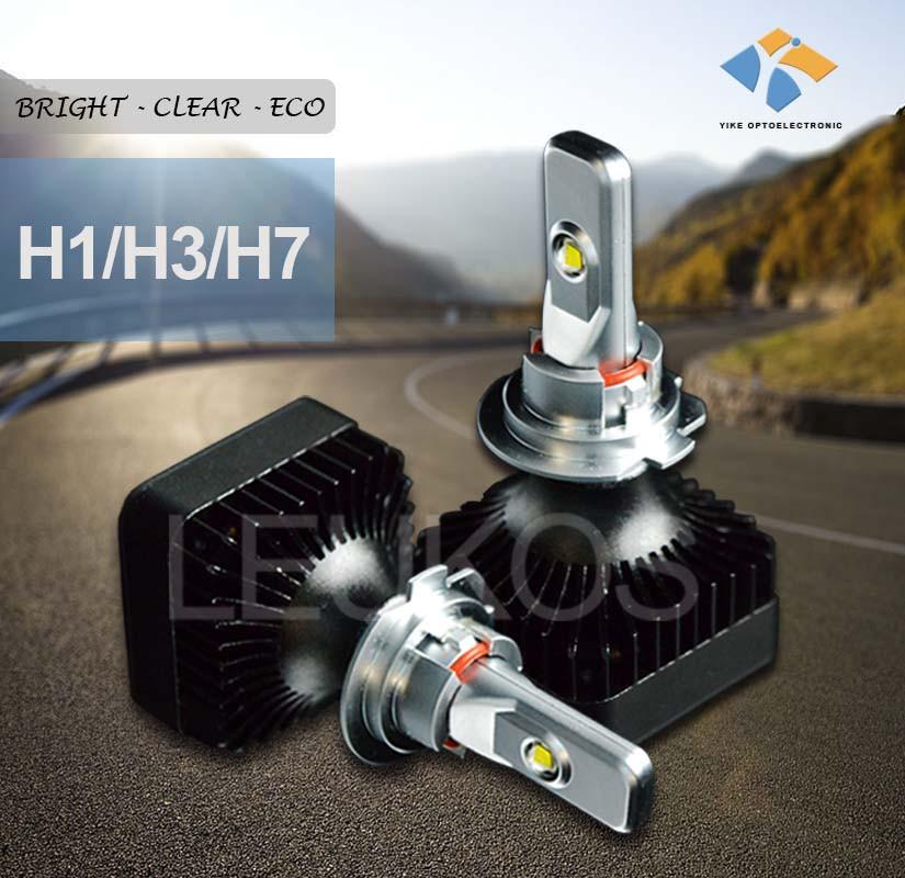 Accessoires automobiles led voiture head light remplacer ampoule halog ne h7 super white e13 - Remplacer halogene par led ...