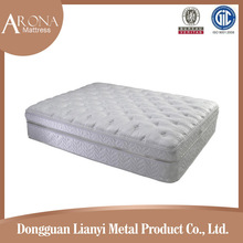 Compressed bonnell spring hotel bed mattress,luxury mattress fabric in mattress